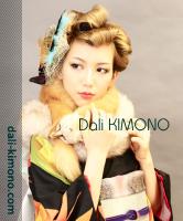 Dali kimono *ダリ着物のアンティークお着物のレンタル